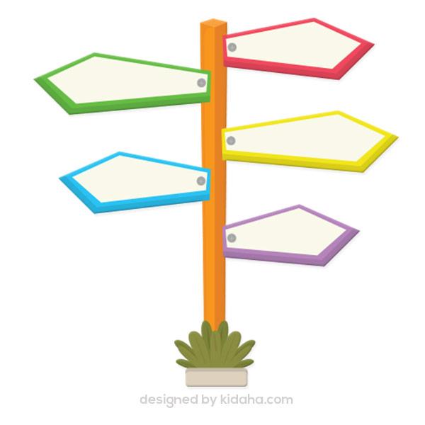 Free signpost clip arts for kids – KIDAHA