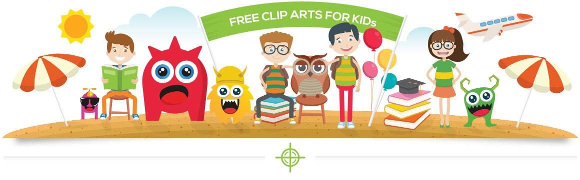 free kids clip arts